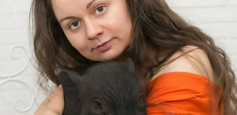 Woman with 10 pet mini pigs blasted by neighbours for 'smelly pigsty' apartment