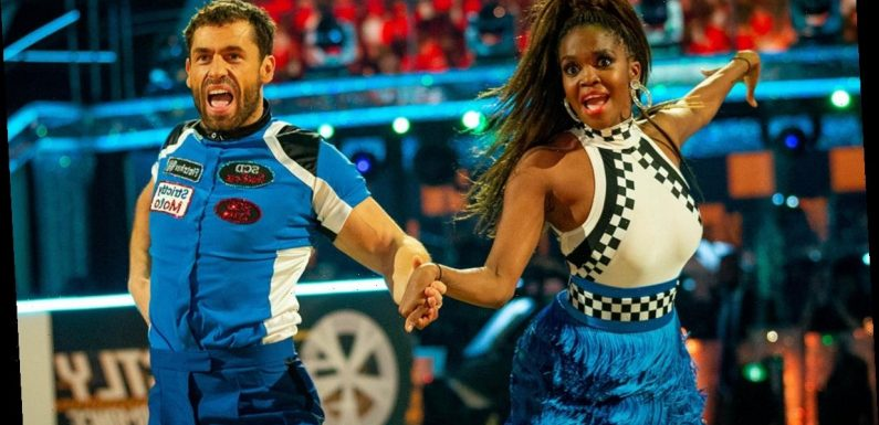 Strictly's Oti Mabuse 'feared for her life' after lift with Kelvin Fletcher went wrong