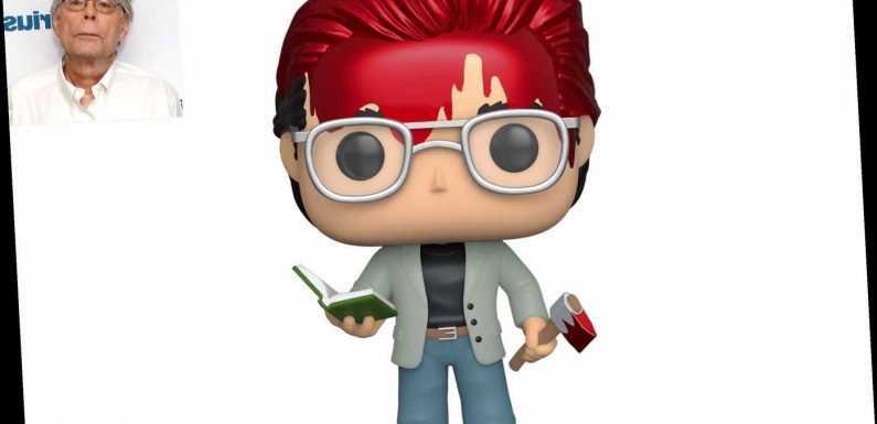 Stephen King Is Now a Funko Figure — and He Looks Like He Came Right Out of One of His Novels