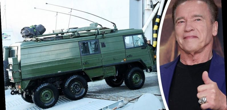 Arnold Schwarzenegger, actor-turned-climate activist, reportedly drives 'tank' to run errands