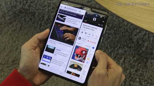 Tech review: Samsung Galaxy Fold a fragile glimpse of the future