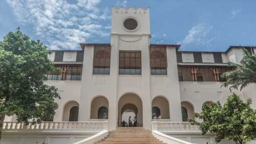 Togo turns former colonial palace into flagship art centre
