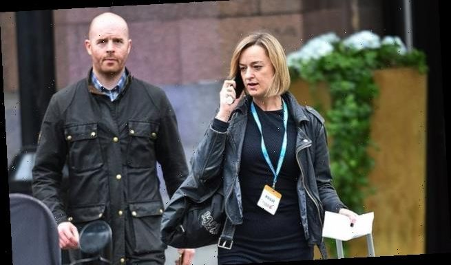 BBC political editor Laura Kuenssberg is targeted by far-Left