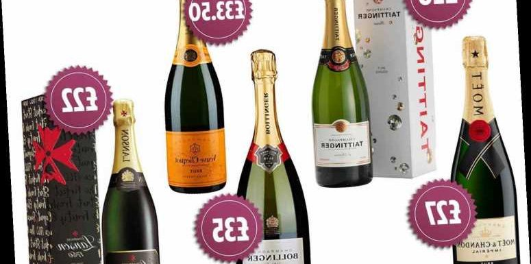 Cheapest Christmas champagne, prosecco, cava and fizz 2019 – get a bottle from £4