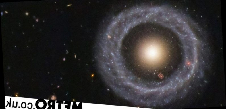 Astronomers have identified a galaxy within a galaxy within a galaxy