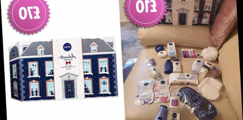Woman bags £70 Nivea Christmas advent calendar for just £10 in Morrisons sale & it includes full size products