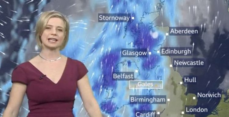 BBC Weather: Storm Atiyah sparks travel chaos as warnings issued across Britain