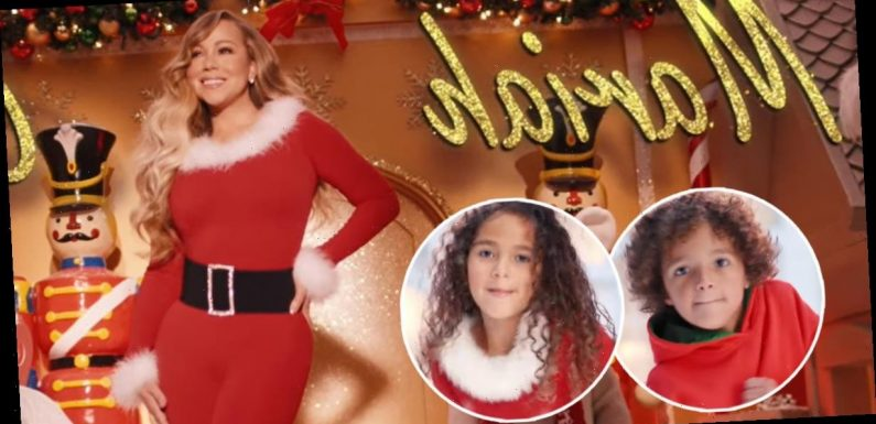Mariah Carey Debuts New 'All I Want for Christmas Is You' Music Video With Cute Cameo From Her Kids