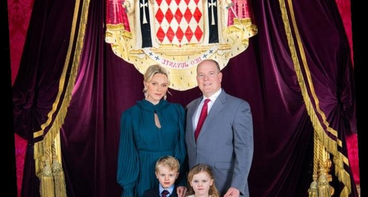 Prince Albert and Princess Charlene's Twins Jacques and Gabriella Star in New Family Portrait