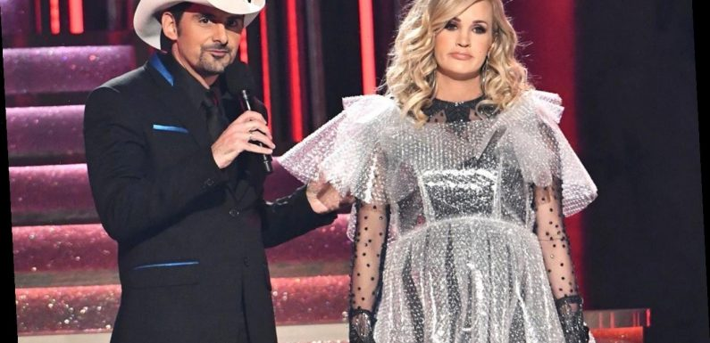 Brad Paisley says Carrie Underwood's driving 'scared the living daylights' out of him