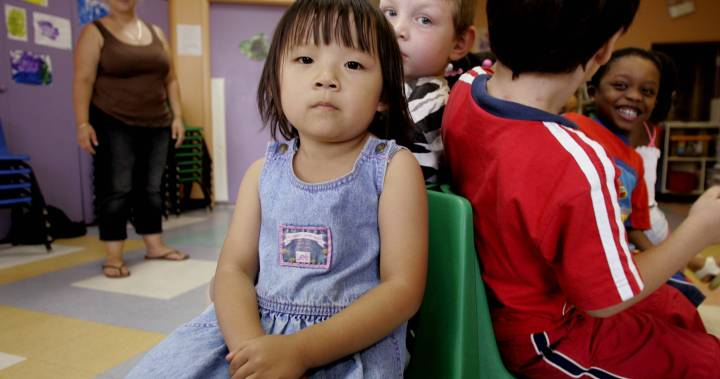 Alberta government warns childcare programs will lose wage grants in spring