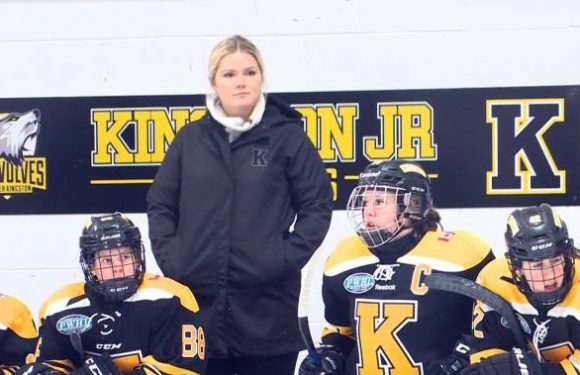 Former Kingston Junior Ice Wolves' star Shelby Perry returns as assistant coach