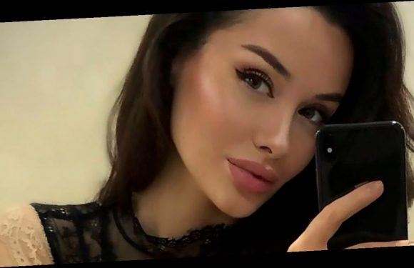 Pouty model is dubbed 'Russian Angelina Jolie' online – but hates the comparison
