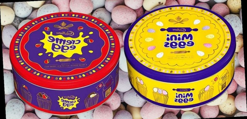 Cadbury responds to angry customers calling Easter tins 'absolutely disgusting'