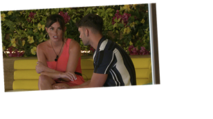 Love Island's Wallace ends things with Rebecca as he admits there isn't a spark