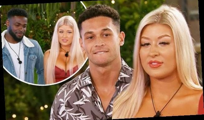 Love Island twins Eve and Jess steal Mike and Callum from co-stars