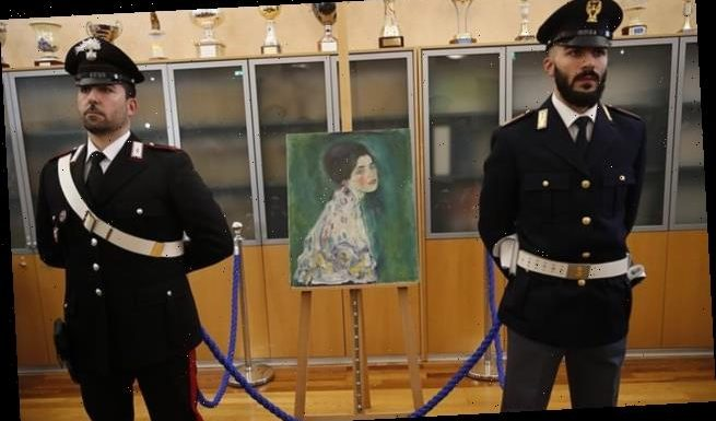 Two men admit stealing £50m artwork found in Italian art gallery wall