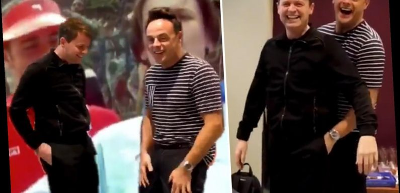 Ant and Dec fans in hysterics as duo go viral for 'pocket dance' – The Sun