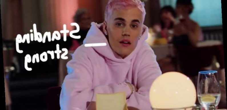 Justin Bieber Talks Overcoming Depression At New Album Listening Party: 'I Don't Even Think I Shou