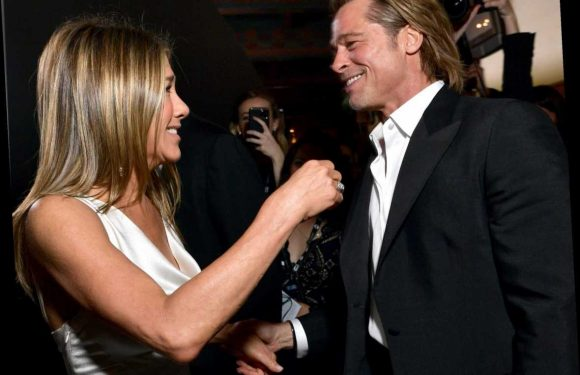 Brad Pitt and Jennifer Aniston reunion rumours explained after exes were spotted holding hands at SAG Awards – The Sun