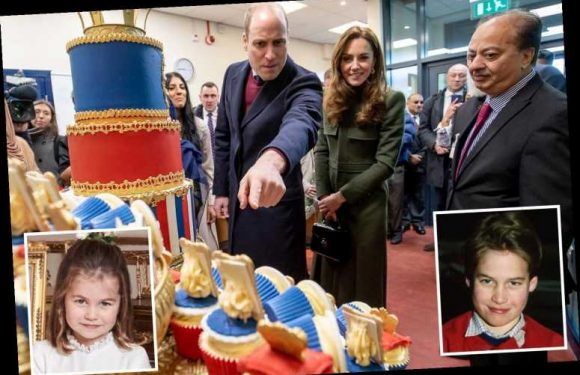 Hilarious moment that Prince William mistakes a photo of himself for Princess Charlotte