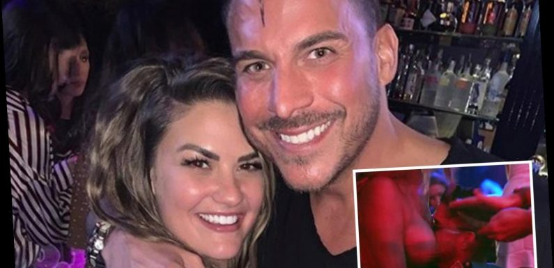 Vanderpump Rules' Jax motorboats stripper and brags he'll dump Brittany for a dancer at boozy bachelor bash – The Sun
