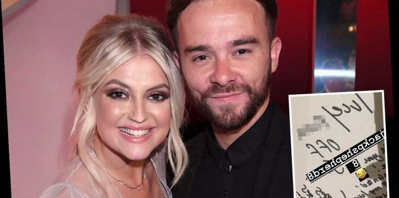 Coronation Street's Jack P. Shepherd tells co-star Lucy Fallon to 'f**k off' in cheeky leaving card as actress quits the soap