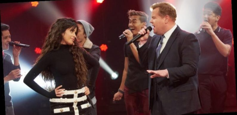 Camila Cabello Sings Her Boyfriend Shawn Mendes' Song During a Riff-Off on 'Corden'