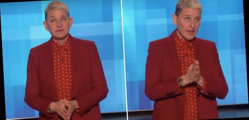 """Ellen DeGeneres Tearfully Reminds Everyone to """"Celebrate Life"""" After Kobe Bryant's Death"""