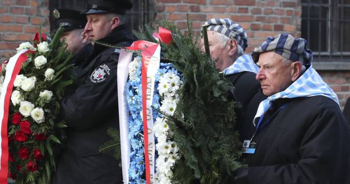 75 years after liberation, survivors return to Auschwitz for memorial ceremony