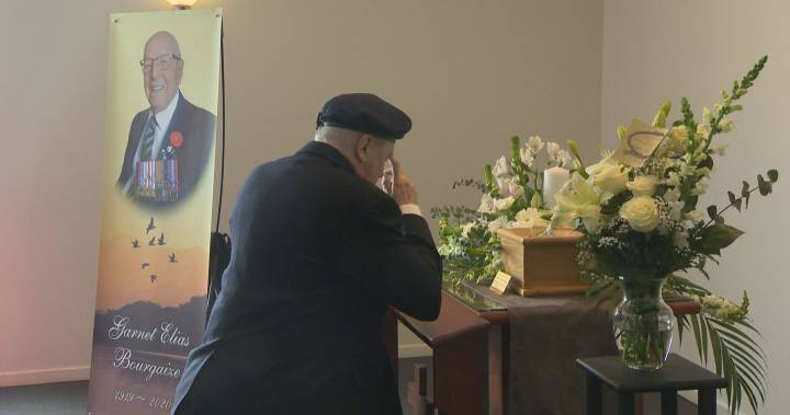 """Chateauguay WWII veteran remembered as """"very resilient"""""""