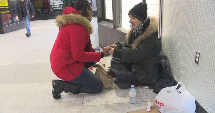Haitian Montrealers celebrate country's independence by helping the homeless on Jan. 1