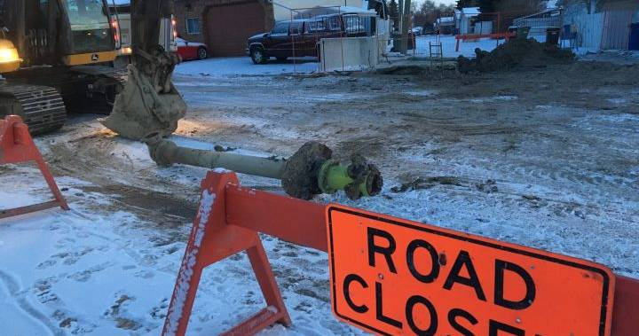'A pain in the butt': Cold snap causes water main breaks around Calgary