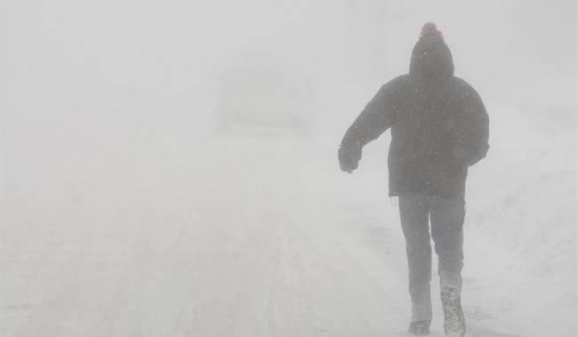 Snow squall warning issued for London and surrounding area