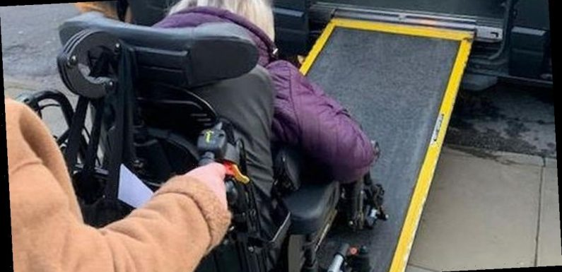 Taxi driver fined by 'devlish' warden as he helped disabled women into cab