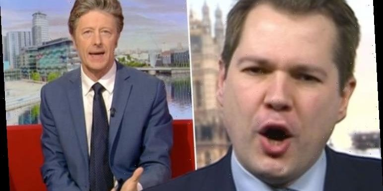 Conservative MP hits out at Charlie Stayt in heated BBC Breakfast row 'Let me answer!'