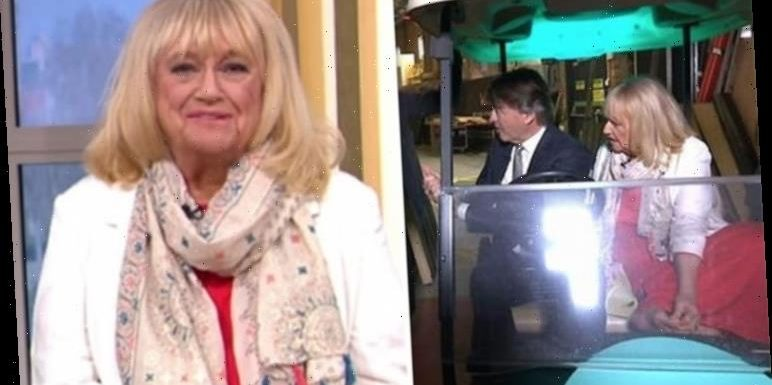 This Morning: Judy Finnigan leaves viewers horrified as they spot bizarre habit