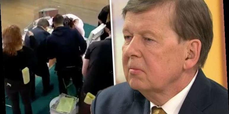 Bill Turnbull leaves Good Morning Britain in chaos after he suffers unfortunate blunder