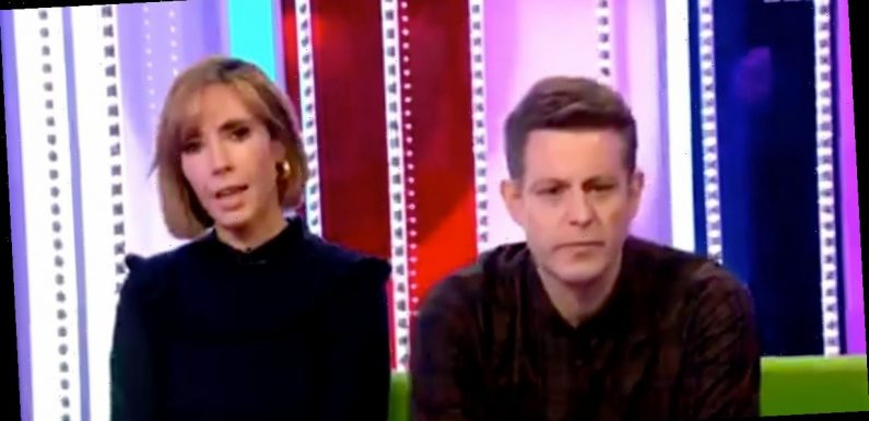 Alex Jones forced to apologise after butchering The One Show guest's name