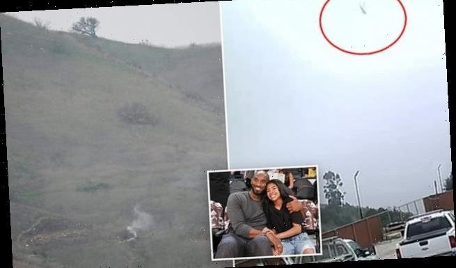 Kobe's chopper was 100ft and 12 seconds from clear sky before crashing