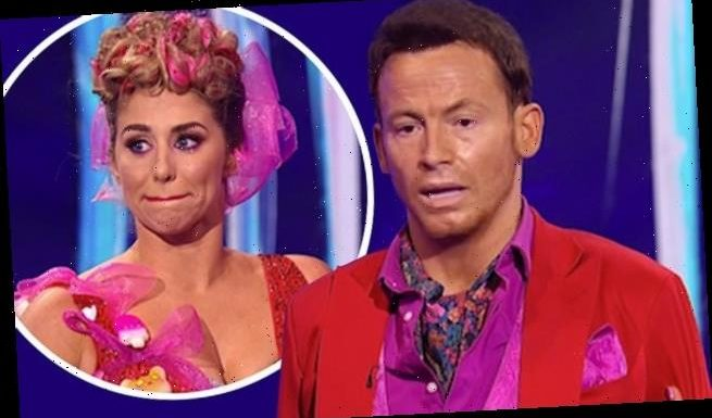 Joe Swash is supported by Alex Murphy