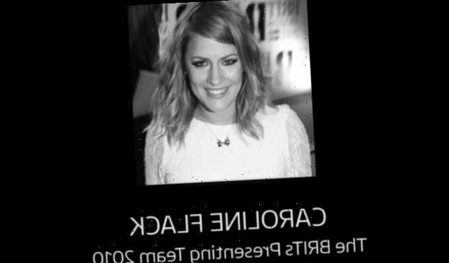 ITV2 pays tribute to Caroline Flack in the BRIT Awards red carpet show