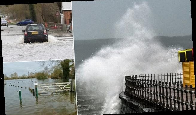 Britain heads for its wettest February in 30 years