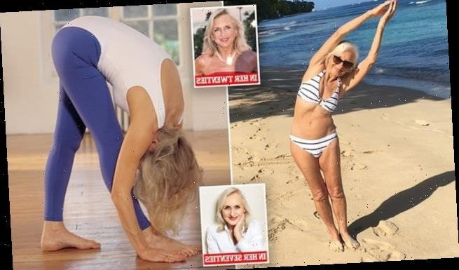 Mum, 78, says she's as fit and bendy as she was in her 20s due to yoga