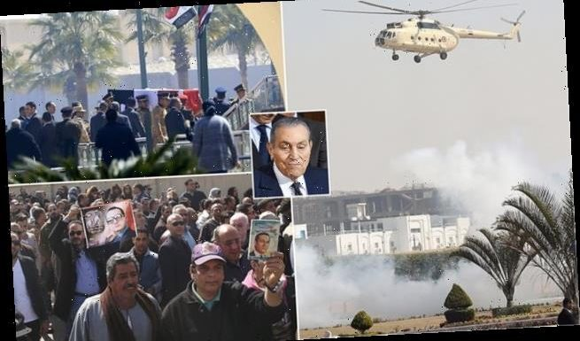 Egypt buries ousted president Hosni Mubarak with military honours