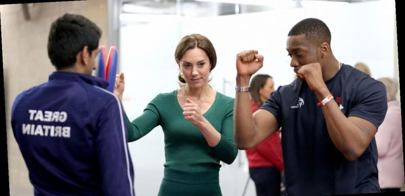 Kate Middleton shows off her sporty side as she practices Taekwondo and racing in casual outfit