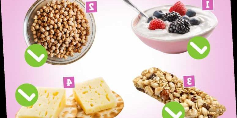 The 4 best foods to snack on – and why you should avoid rice cakes at all costs – The Sun
