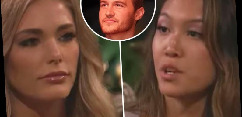 The Bachelor contestant accuses another woman of 'drinking excessively' after a 'mental breakdown' as fight erupts