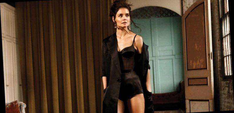 Hot Mama! Katie Holmes Talks Positivity in Sexy Lingerie Shoot