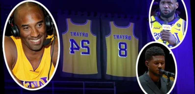 Kobe Bryant Honored With Emotional Tribute At First Lakers Game Since His Fatal Helicopter Crash